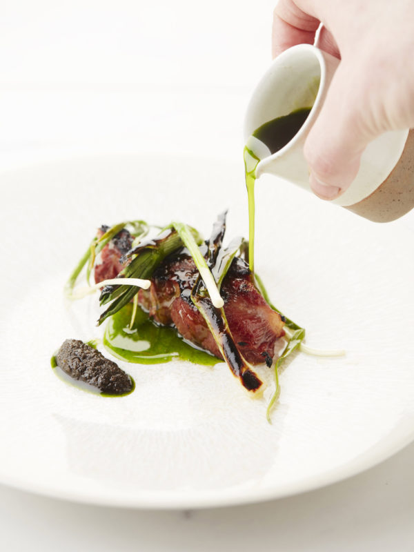 Neck Of Lamb, Ramsons, Elixir de Spa