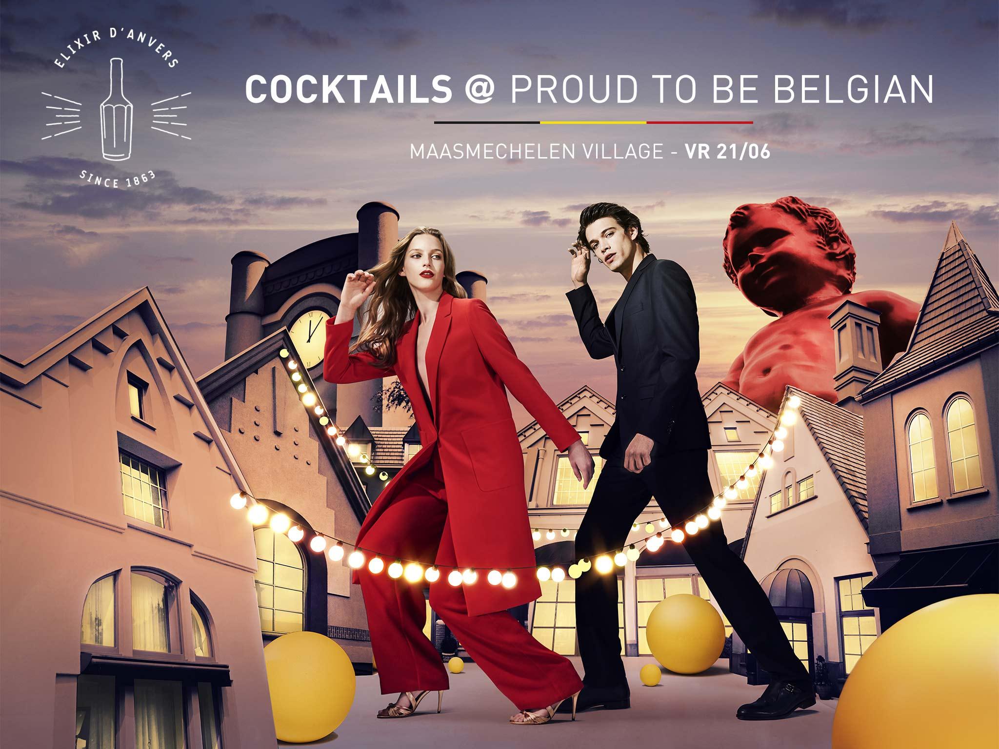 """Elixir d'Anvers """"Proud to be Belgian"""""""