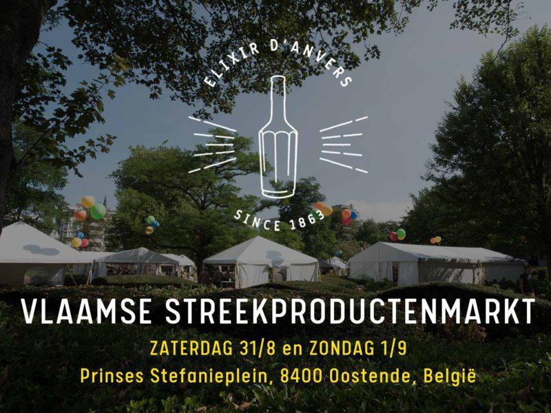 Elixir d'Anvers @ Vlaamse Streekproductenmarkt Oostende