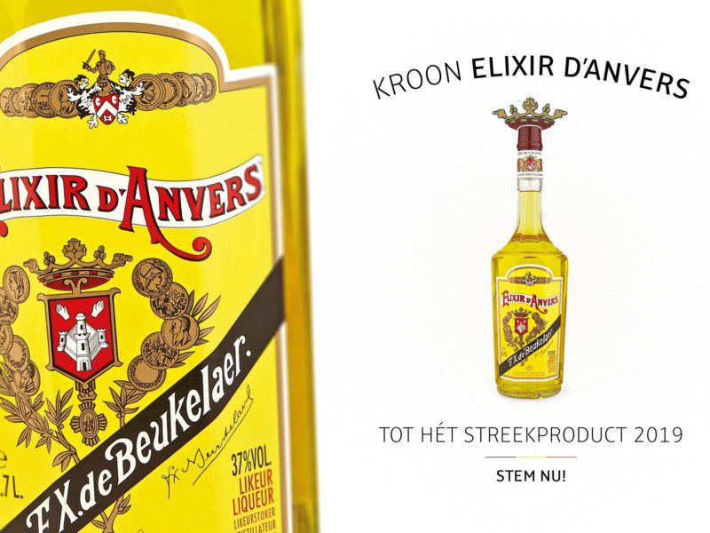 Kroon Elixir d'Anvers tot Hét Streekproduct 2019