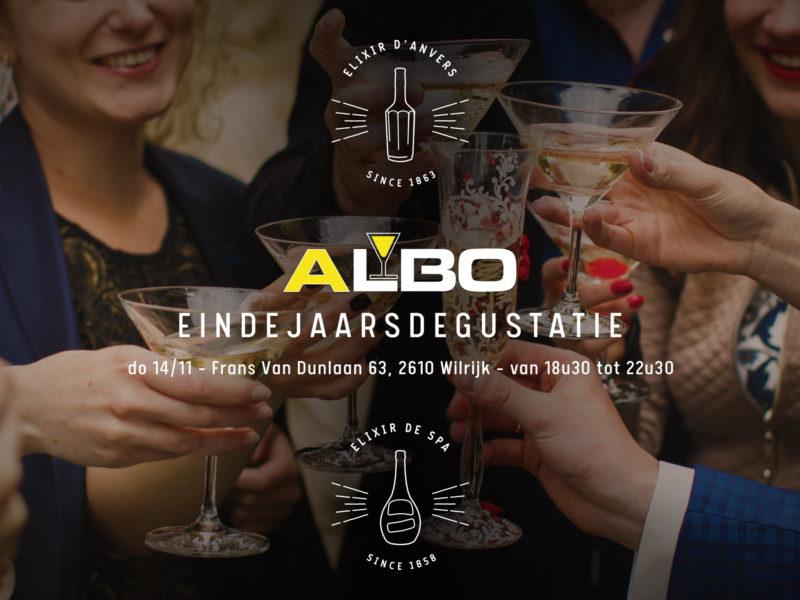 Elixir d'Anvers @ Eindejaarsdegustatie Albo Drinks Wilrijk