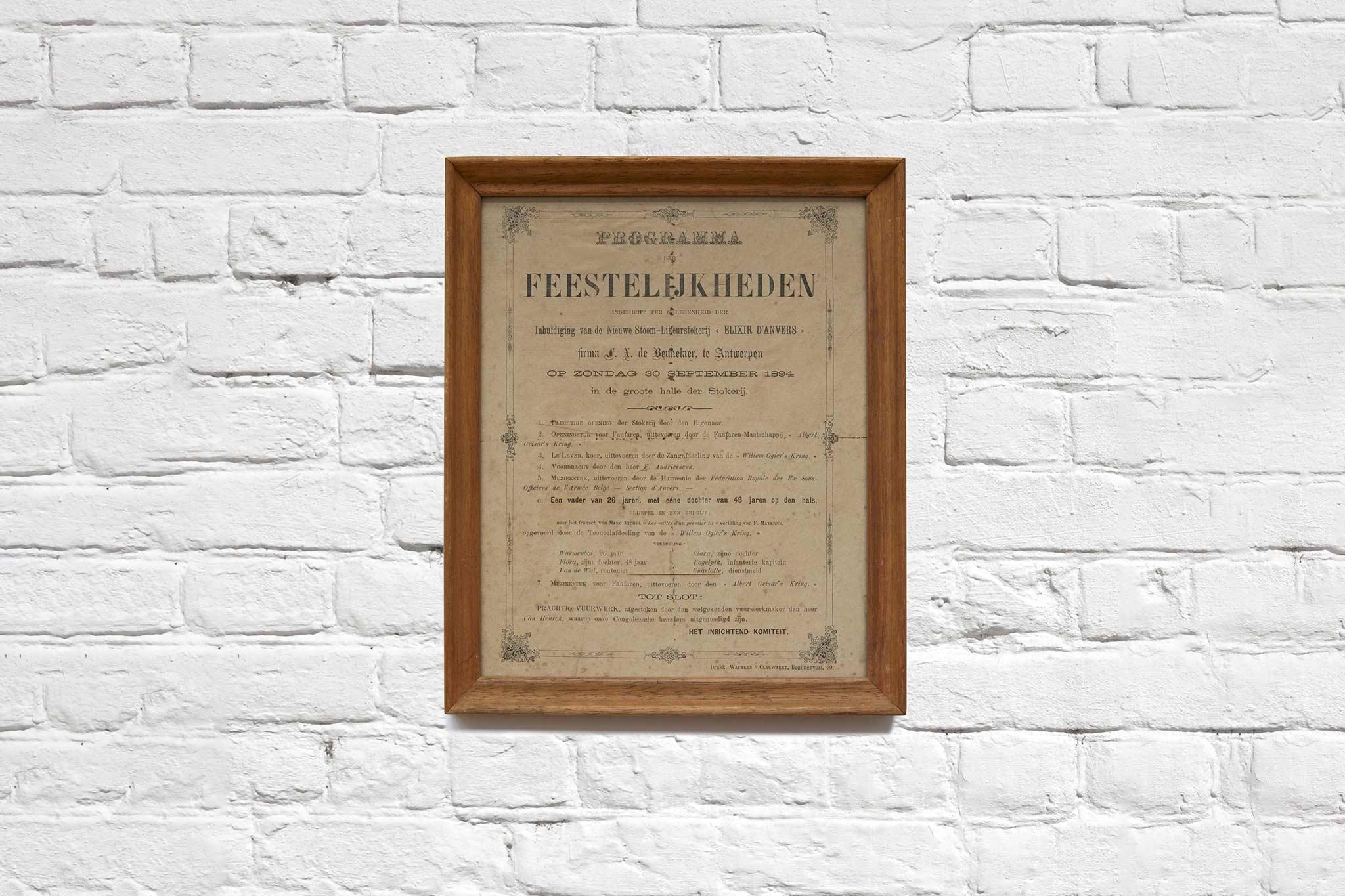 Uit ons archief: Inhuldiging Likeurstokerij 1894
